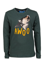 Someone longsleeve wolf magic LUPO-SB-03-D
