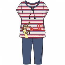 Woody Gestreepte Pyjama Hond 201-1-BSK-S/914