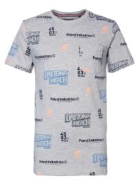 Logoprint T-shirt petrol