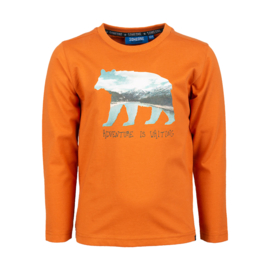Someone longsleeve beer ORANGE FLINT-SB-03-D