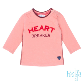 Longsleeve Heart Breaker- Stars- Feetje