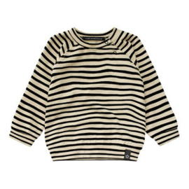 stripes nude sweatshirt