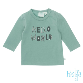 Longsleeve Hello World- Mr. Good Looking- Feetje