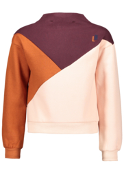 Luna colourblock sweater COLOR UP- SCM
