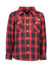 Geruit hemd rood F908-6101-299