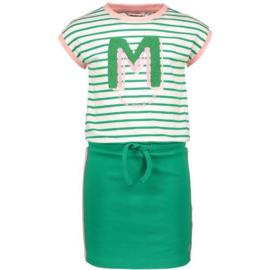 Moodstreet jurk M002-5804 GROEN