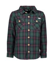 Geruit hemd groen F908-6101-360