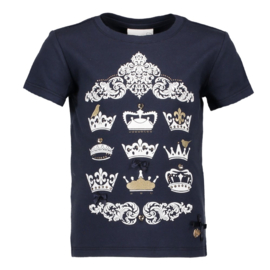 T-shirt donkerblauw Le chic