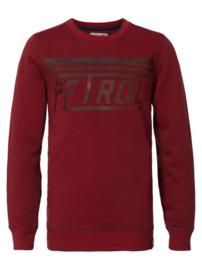 Petrol sweater bordeaux B3090-SWR311