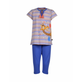 Woody Meisjes-Dames pyjama veelkleurig 201-1-BSK-S/900