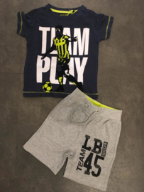 Lemon beret enkel t-shirt