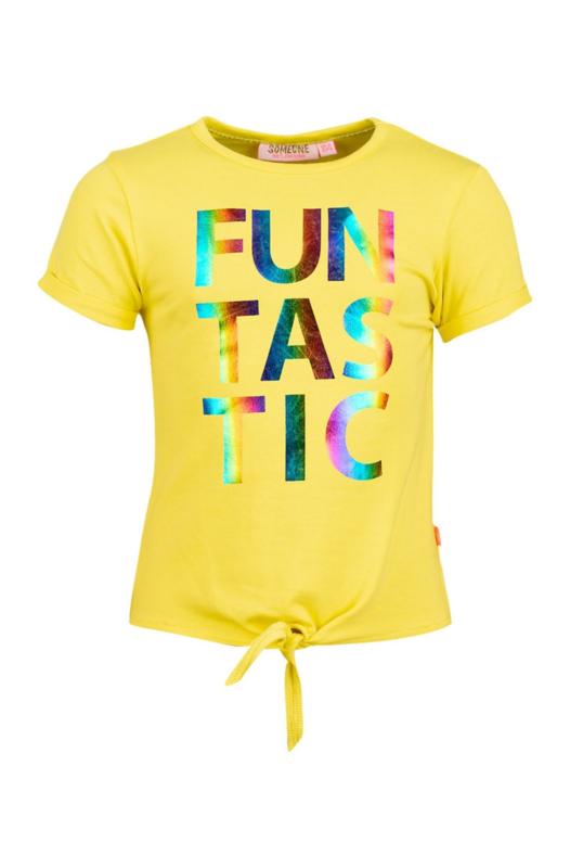 Someone gele T-shirt funtastic