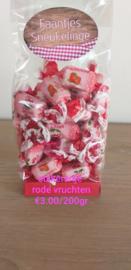 Rode vruchten suikervrij