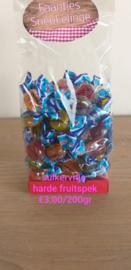 Harde fruitspek suikervrij