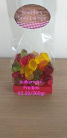 Fruitjes suikervrij