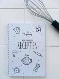 Receptenboek voor mijn favoriete recepten (licht beschadigd)