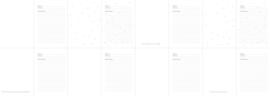 Herinneringenboek Zwart / Wit 35 herinneringen in 1 boek