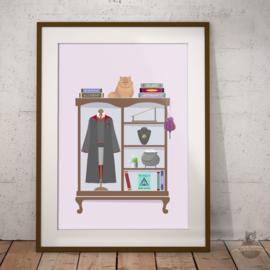 Hermine Granger Art Print Poster Harry Potter inspiriert