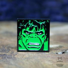 The Incredible Hulk pin Marvel Comics close up