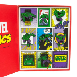 Officiële The Incredible Hulk Marvel Retro Pin set