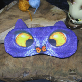 Sleepmask cross eyed cat