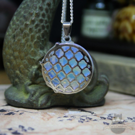 Feniks natuursteen ketting Opaal