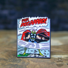 Thor Pin Marvel Comics FOR ASGAAARD!
