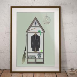 Draco Malfoy Art Print Poster Harry Potter inspiriert