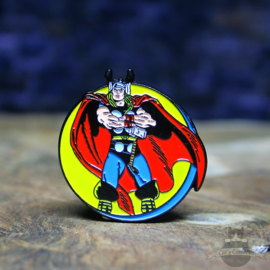 Thor Pin Marvel Comics retro Kreis