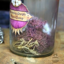 Dark Souls inspired potion Blooming Purple Moss Clump