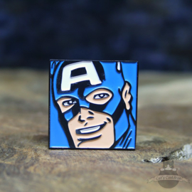 Captain America Pin Marvel Comics Nahansicht