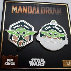 The Mandalorian Baby Yoda Offizielles Pin Badge Set 1.1