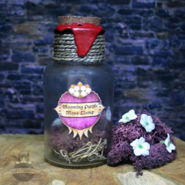 Dark Souls geïnspireerde potion Blooming Purple Moss Clump