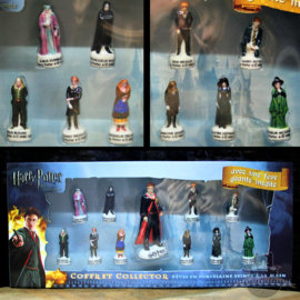 Harry Potter porcelain figure set box Halfblood Prince