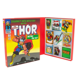 Thor Marvel Retro Pin Set