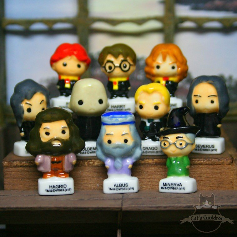Harry Potter Chibi Porzellan Figuren Satz Funko Pop Stil