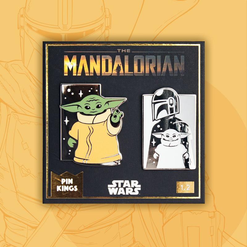 Star Wars The Mandalorian Officiële Pin Badge Set 1.2