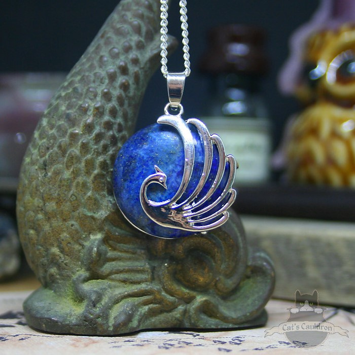 Feniks natuursteen ketting Lapis Lazuli