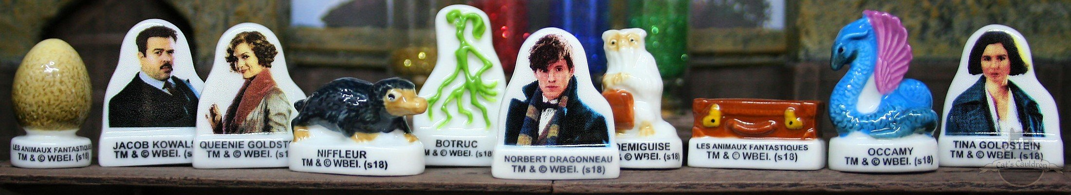 Fantastic Beasts Figuren set