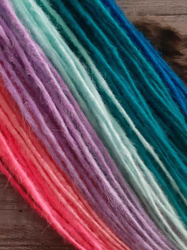 Dreads Felle kleuren