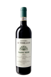Fattoria Le Terrazze Sassi Neri Conero Riserve DOCG 2015 I 6 flessen