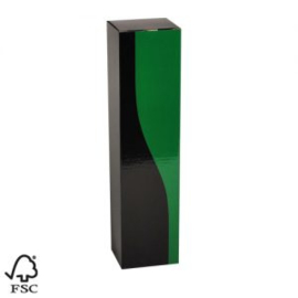 Geschenkdoos Groen/ Zwart  I per stuk
