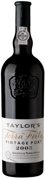 Taylor's Quinta de Terra Feita 2005 I 1 fles in houten kist