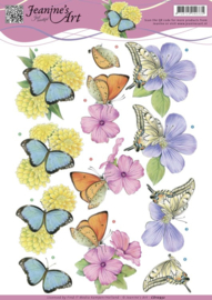 Jeanine's Art - Butterflies   CD10932