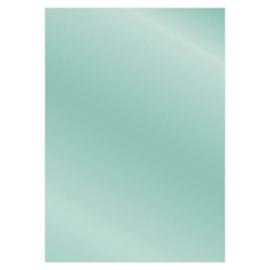 Card Deco Essentials - Metallic cardstock - Light Petrol CDEMCP023