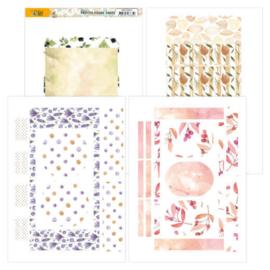 Printed Figure Cards - Precious Marieke - Nature's Gift   PMFC10003 4 bedrukte figuurkaarten, passend bij de collectie