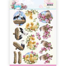 3D Cutting Sheet - Amy Design - Enjoy Spring - Birds  CD11654
