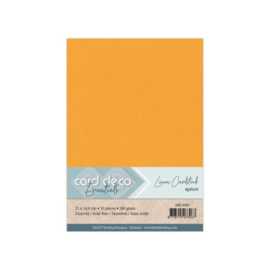 Linen Cardstock - A5 - Apricot 65