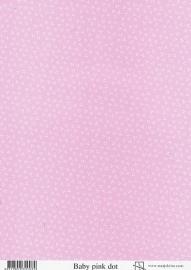 achtergrondvel Marjoleine roze stip