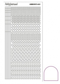 Hobbydots sticker - Adhesive- White  STDA130